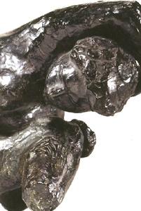 Torse de la Vague  Esquisse 1956 - Fonte à la cire perdue Fonderie Valsuani 42*23*27