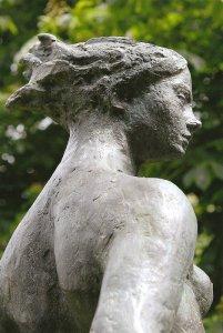 Alizée (fragment) 2008 - Fonte à la cire perdue Fonderie Le Floch  Centre culturel de Avrillé