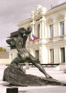 La Résistance 2002  - Fonte à la cire perdue Fonderie Le Floch Mairie de Trélazé