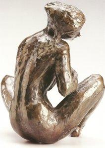 Le Rêve 1985  - Fonte à la cire perdue  Fonderie Delval Musée Despiau Wlérick de Mont de Marsan 46*40*37
