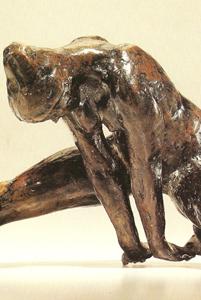 Jeune Vigueur Grande 1977 - Fonte à la cire perdue Fonderie de Coubertin 52*50*104